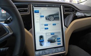 Tesla is an automotive Internet of Things example