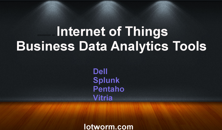 Best Internet of Things Business Data Analytics Tools