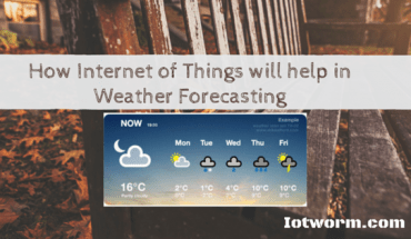 Weather and temperature forecasting meets IoT