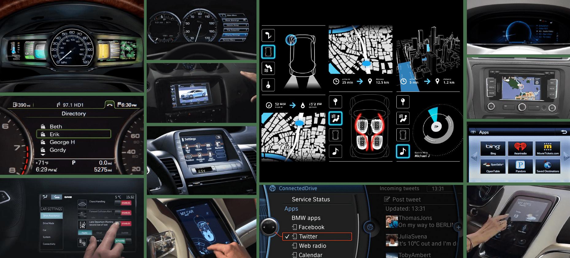 human machine interface (HMI) automotive